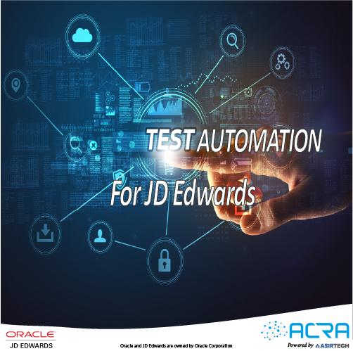 Test Automation for JD Edwards